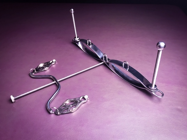 Ultimate Breast Press & Nipple Clamp - www.tpdungeon.co.uk
