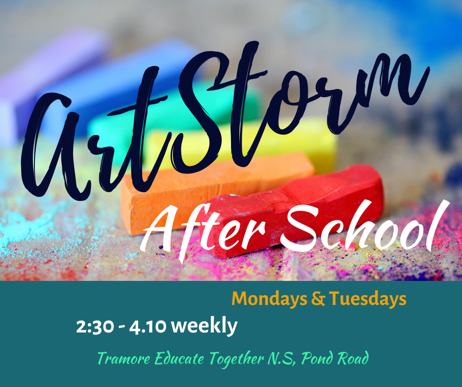ArtStorm Afterschool Monday and Tuesday