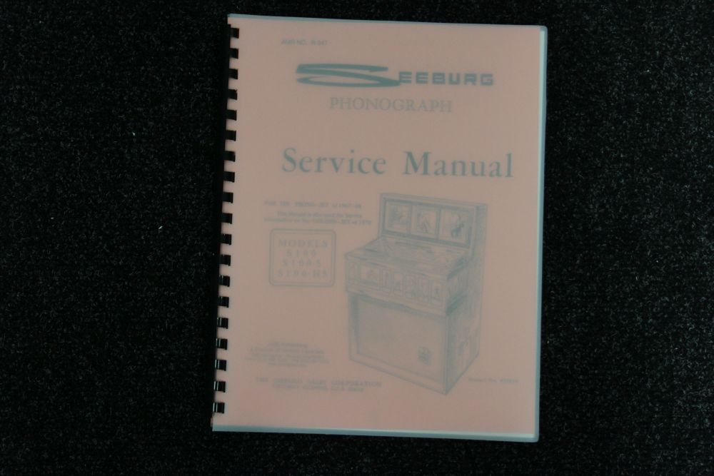 Seeburg - Service Manual - Model S100, S100-5, S100-H5