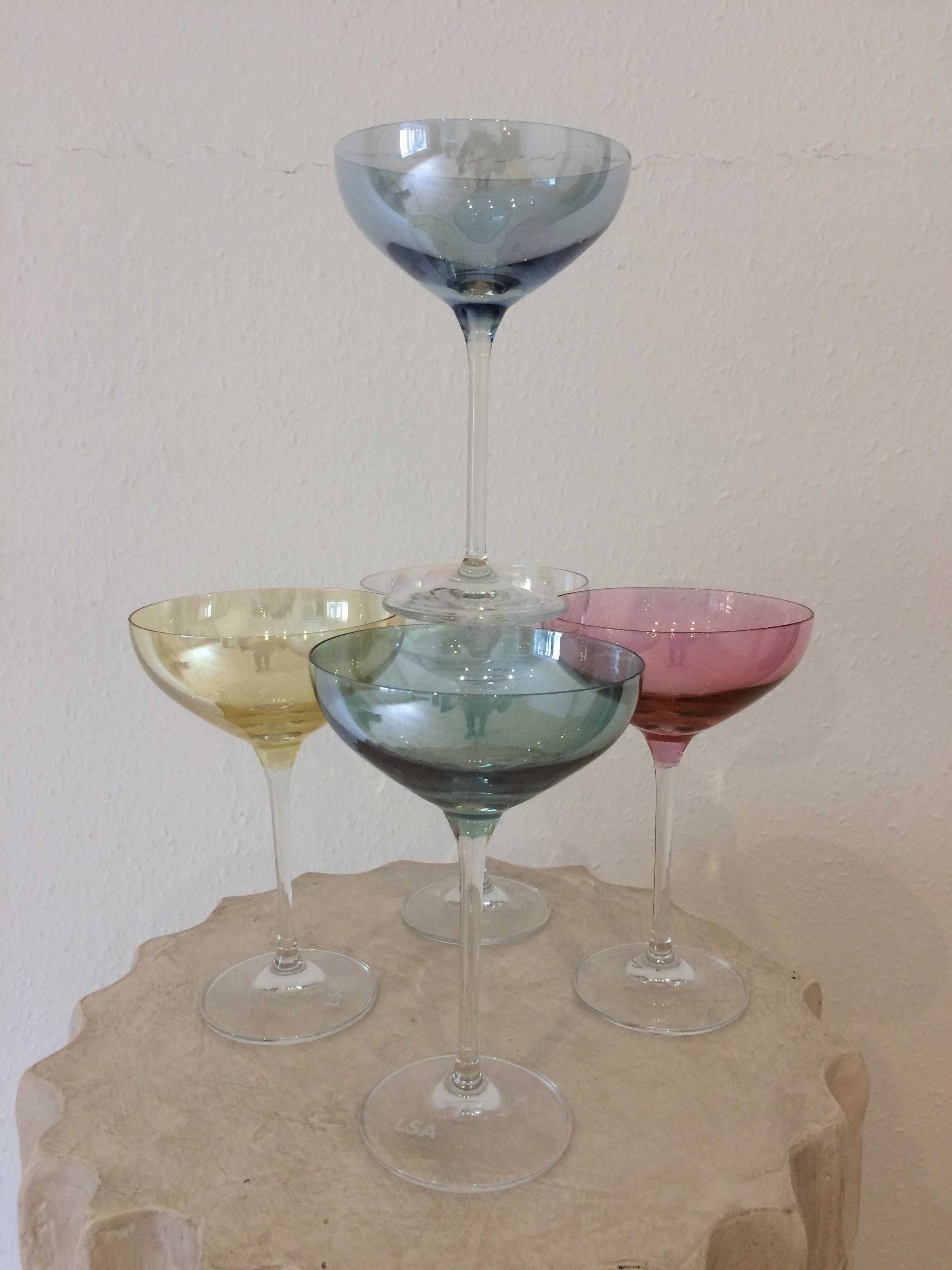 LSA International Champagne Glasses