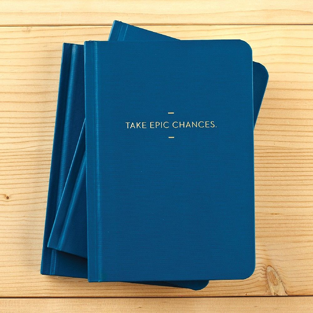 Compendium A6 Journal 144 Pages - Take Epic Chances