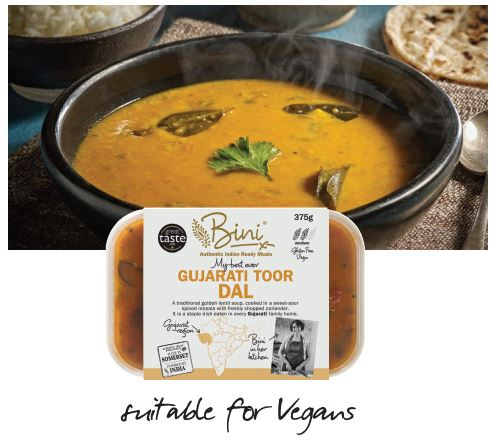 National Curry Week  - Meat Free Monday Bini livens up mealtimes with a delicious Dal