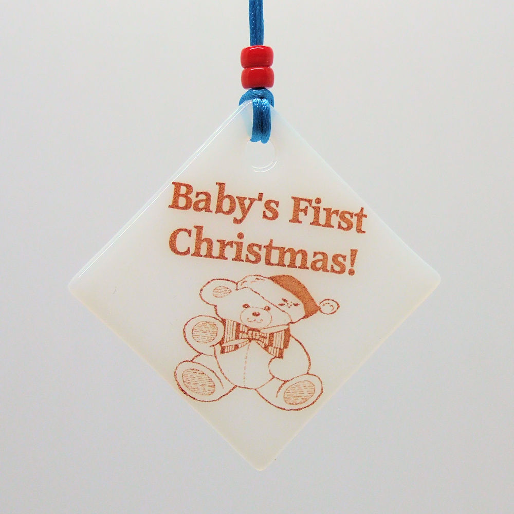 Baby's first Christmas (boy) - Christmas Decoration