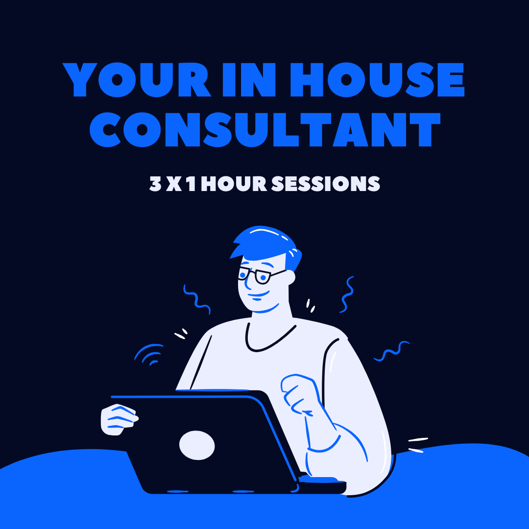 3 x 1 Hour Online Consultancy Sessions
