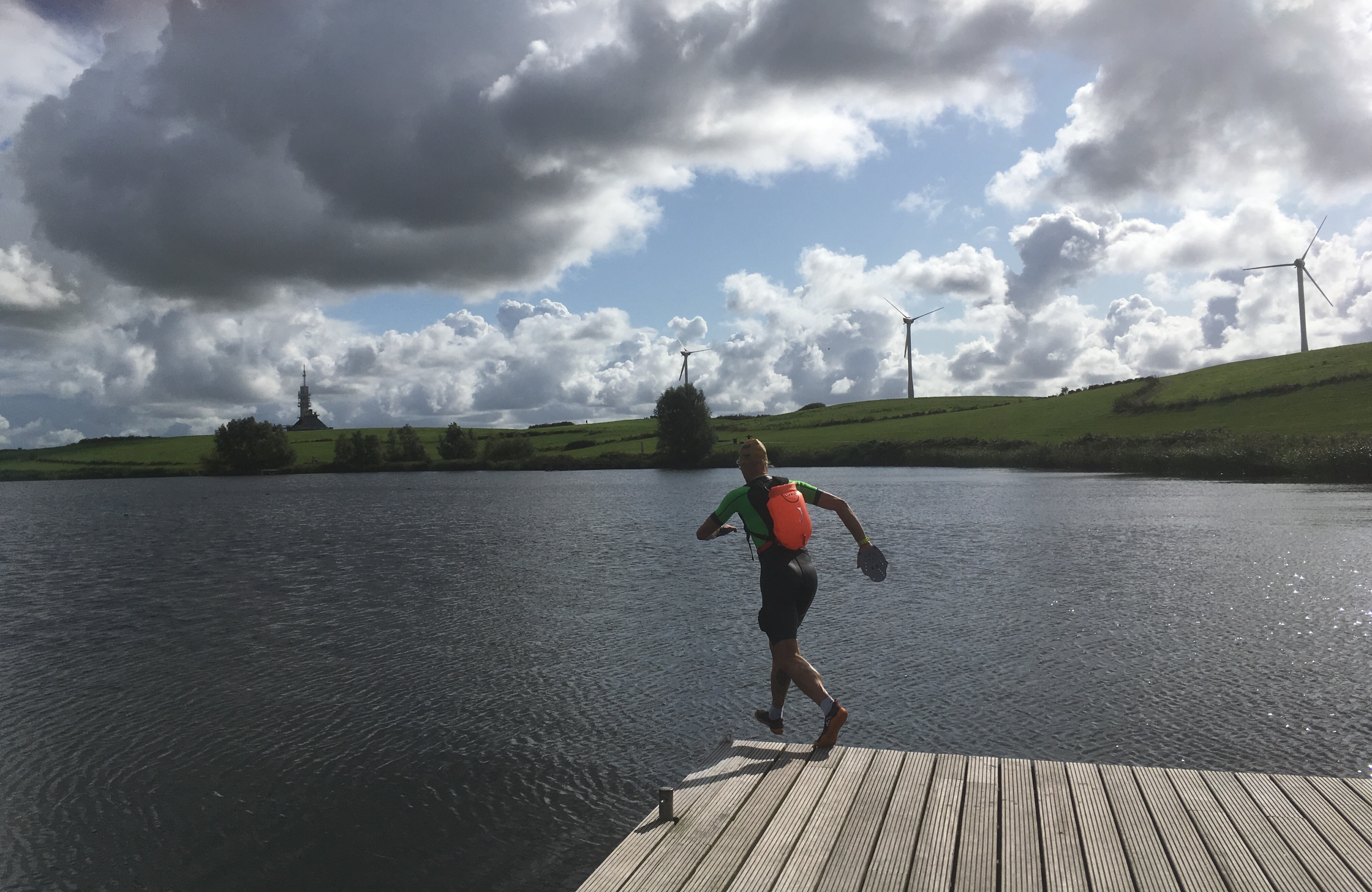 Swimrun testrondje over Teletubbieland