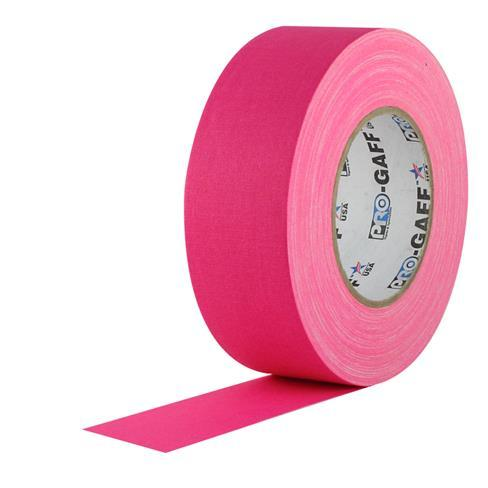 PRO GAFF® - FL Pink Fluorescent Gaffer Tape (48mm by 22.8 meter)