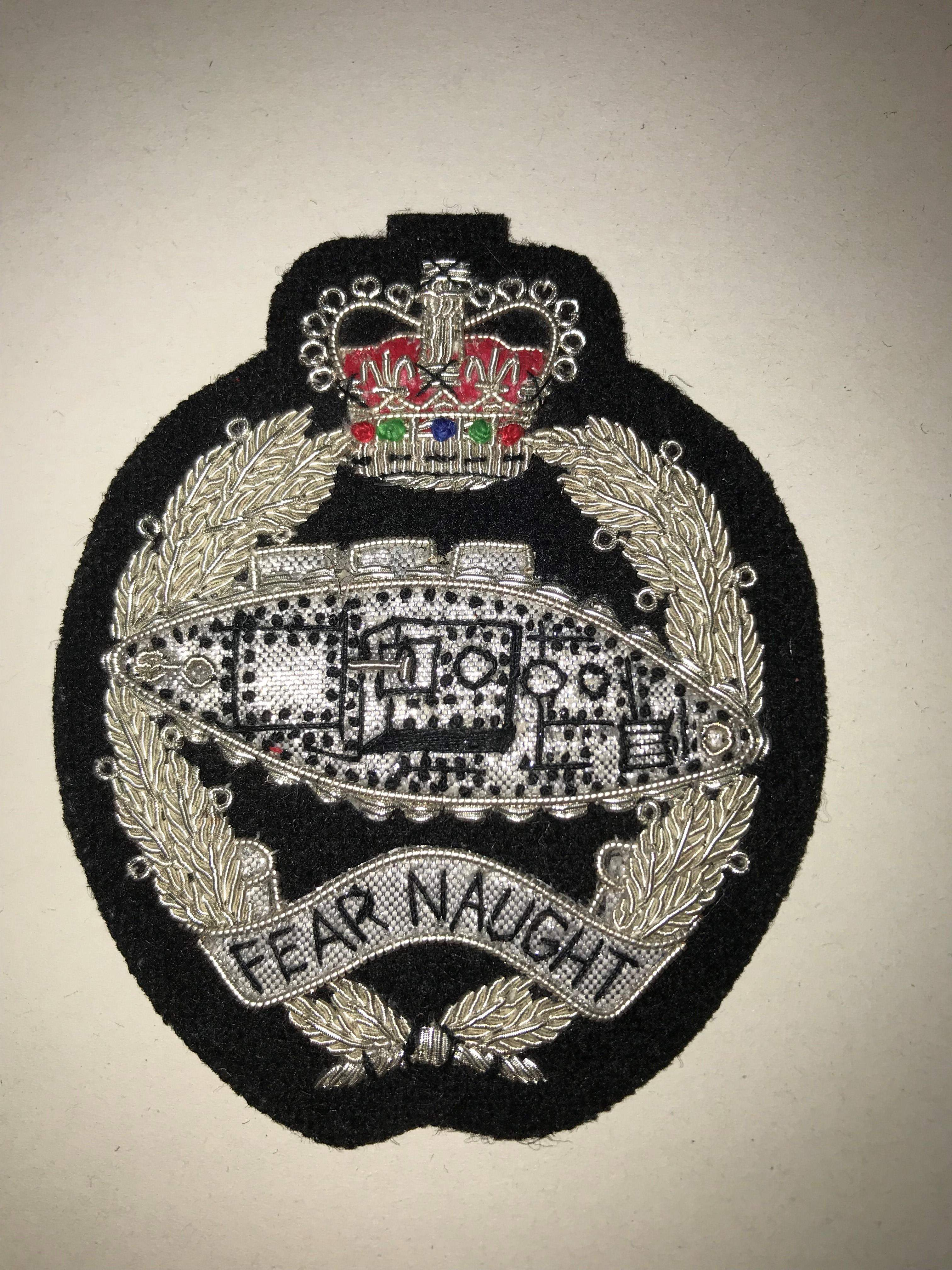 Silver Blazer Badge (0154)