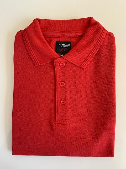 HC Polo Shirt Plain Red