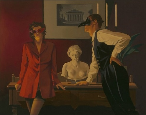 The Sparrow and the Hawk Jack Vettriano Limited Edition Print