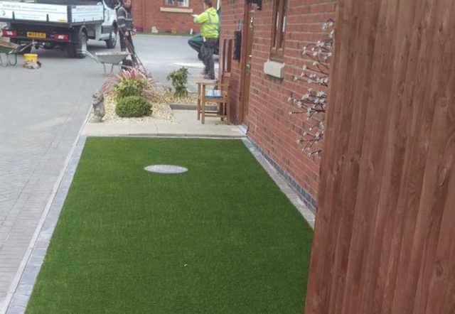 County Groundforce Ltd of Wolverhampton install maintenance-free artificial grass