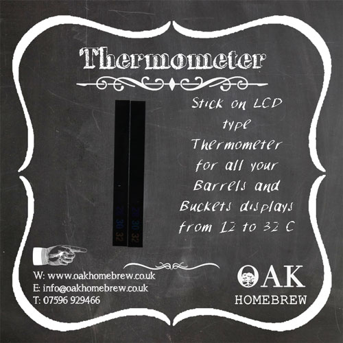 stick on thermometers