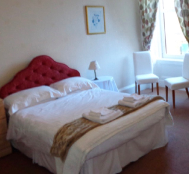 The double guest room at Lindean Guest House Dumfries
