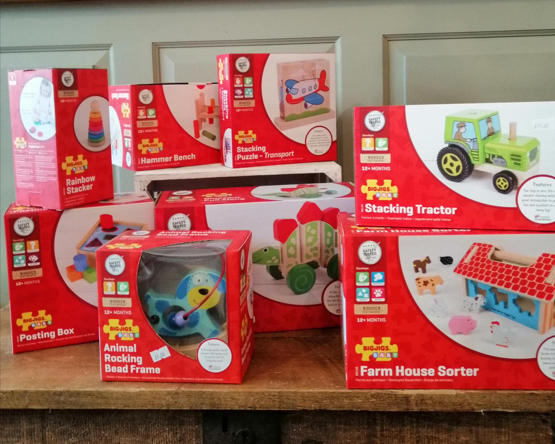Bigjigs Wooden Toys - 12 months +