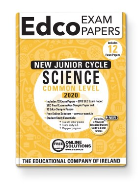 SCIENCE JC EXAM PAPERS - COMMON LEVEL - EDCO