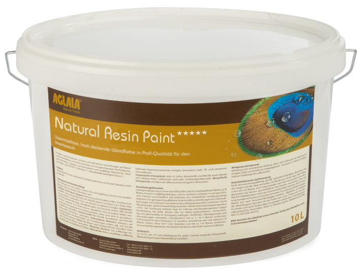 Aglaia Natural Resin Paint