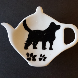 Theetip Black & White - Cats and Dogs - Nieuw