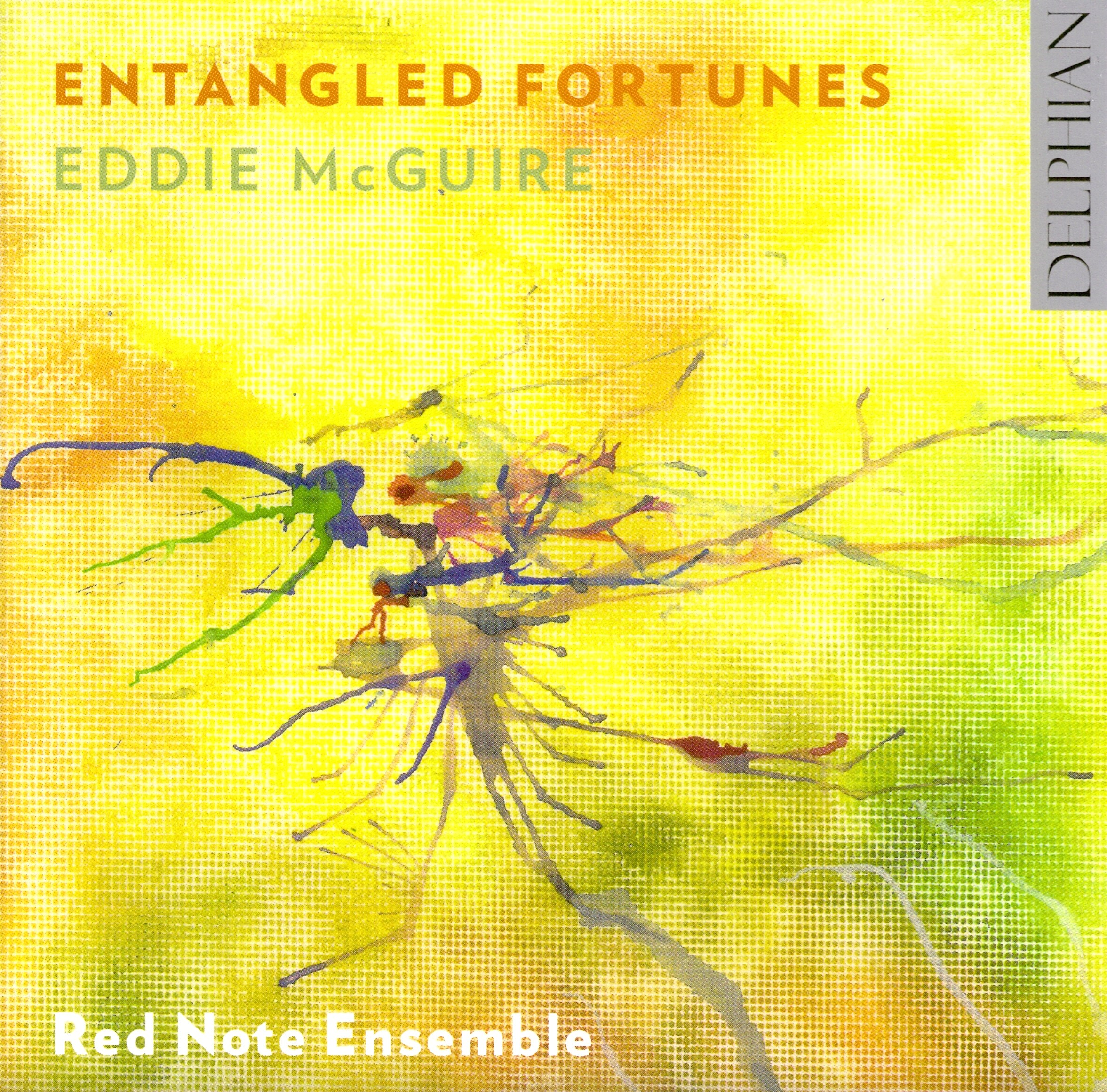 eddie mcguire cd cover entangled fortunesjpg