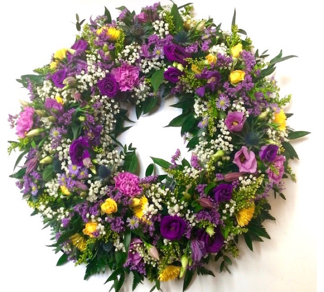 Funeral flowers Kirkcudbright from Willow Florists Kirkcudbright