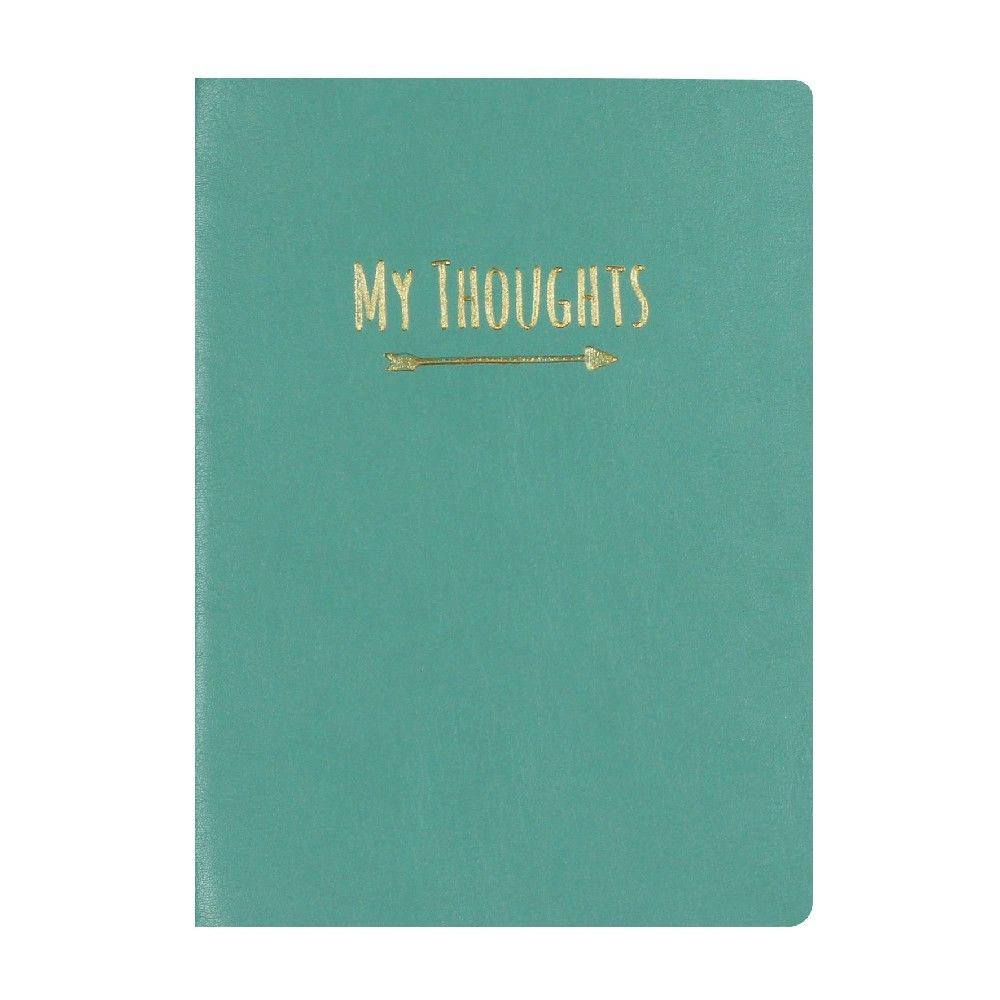 Studio Oh! Leatherette A5 Journal - Nearly Teal