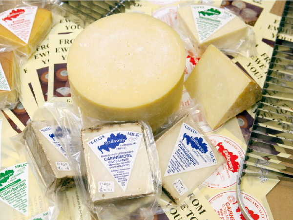 Organic speciality cheese from Galloway Farmhouse Cheese
