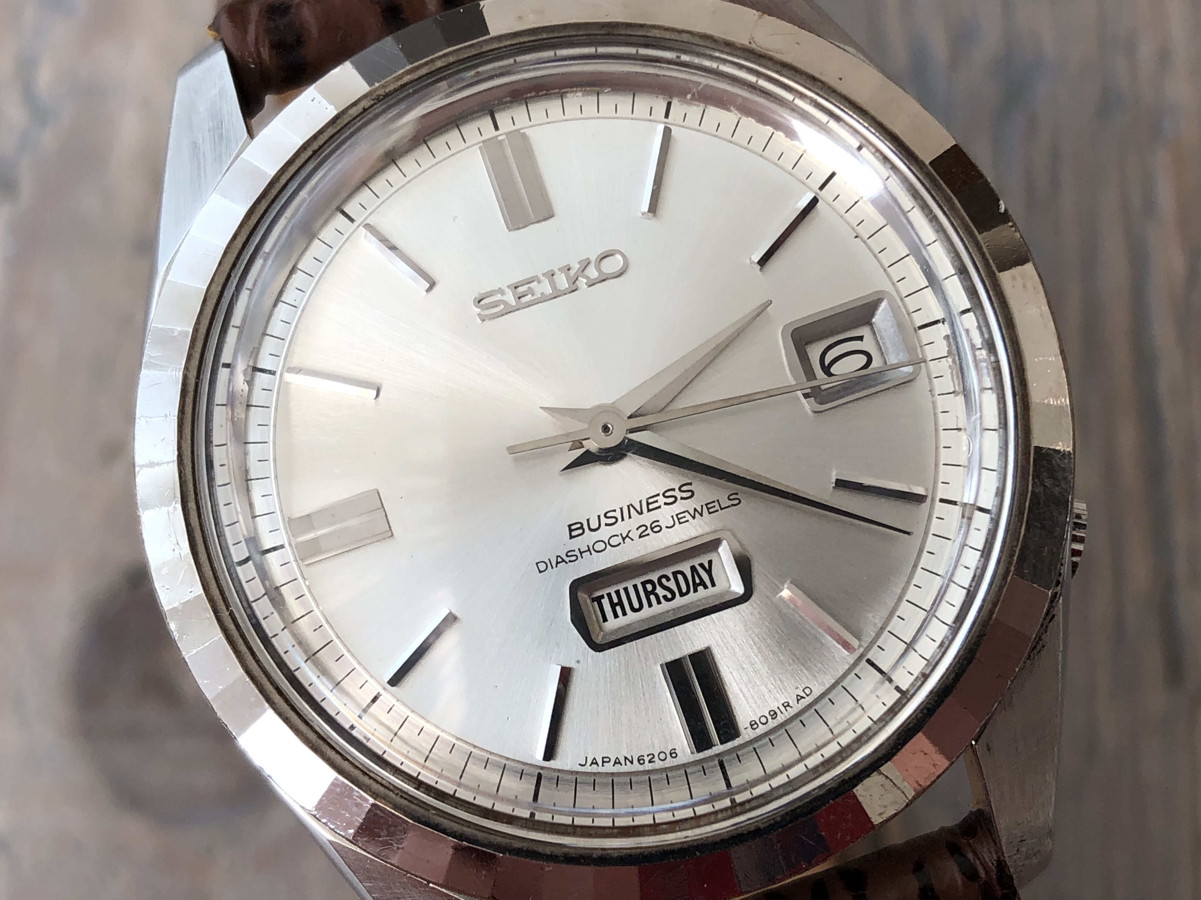 Seiko Business 6206-8100 (Sold)
