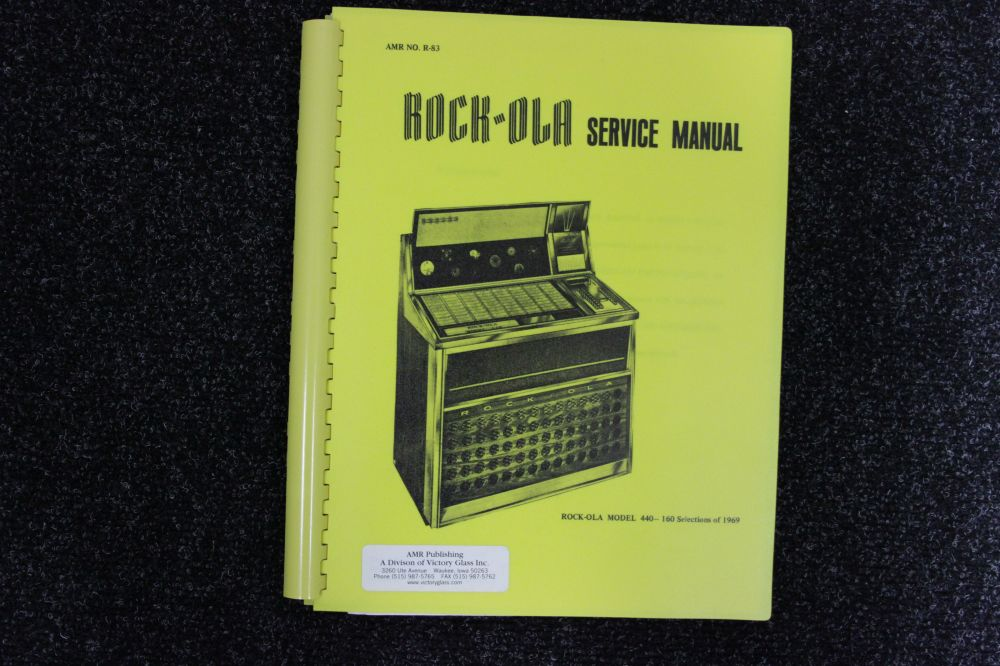 Rock-ola - Service Manual - Model 440