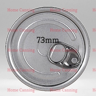 100 x 73mm Aluminum Can 28mm with Ring Pull Lid £90 + VAT