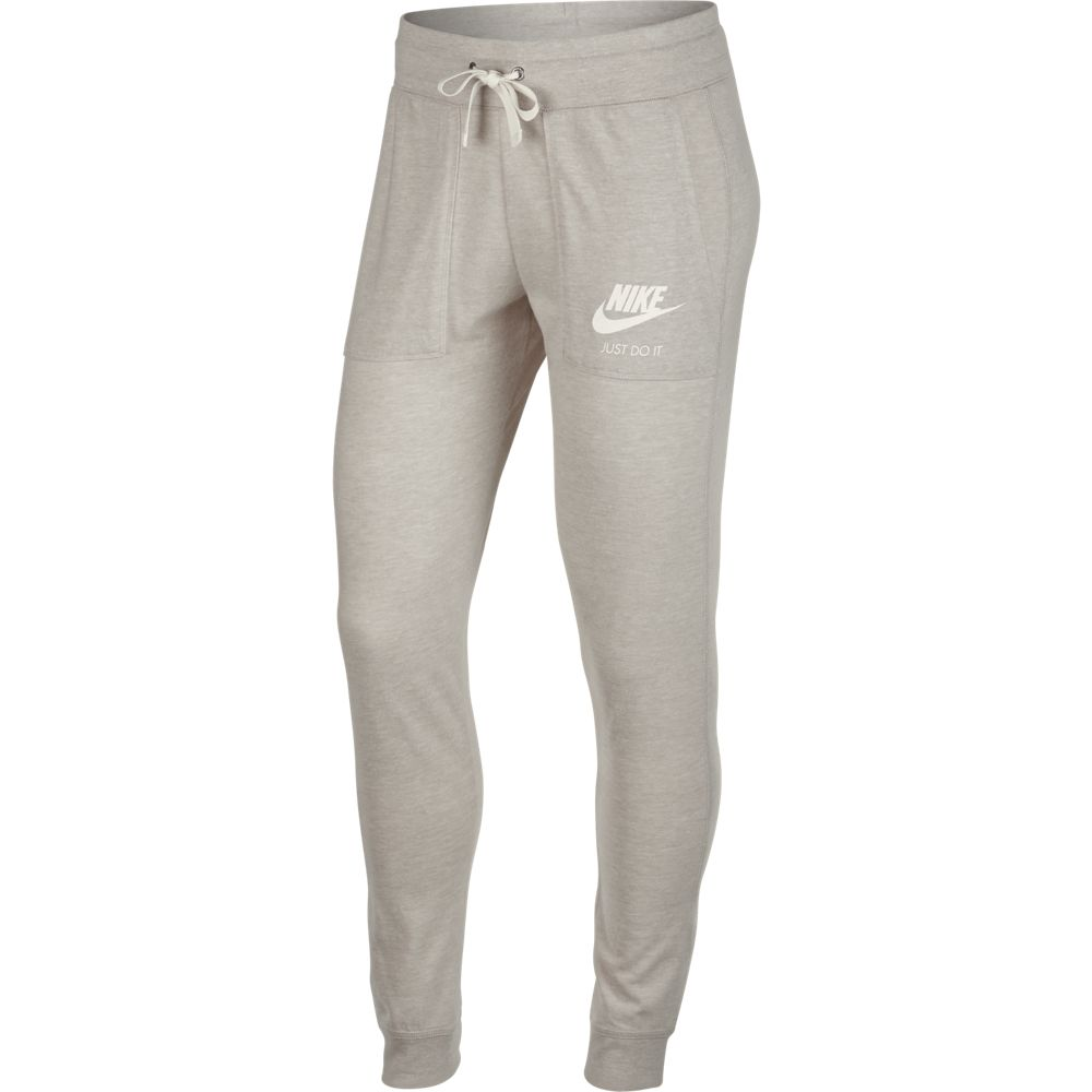 Nike NSW Gym Pant Oatmeal-White