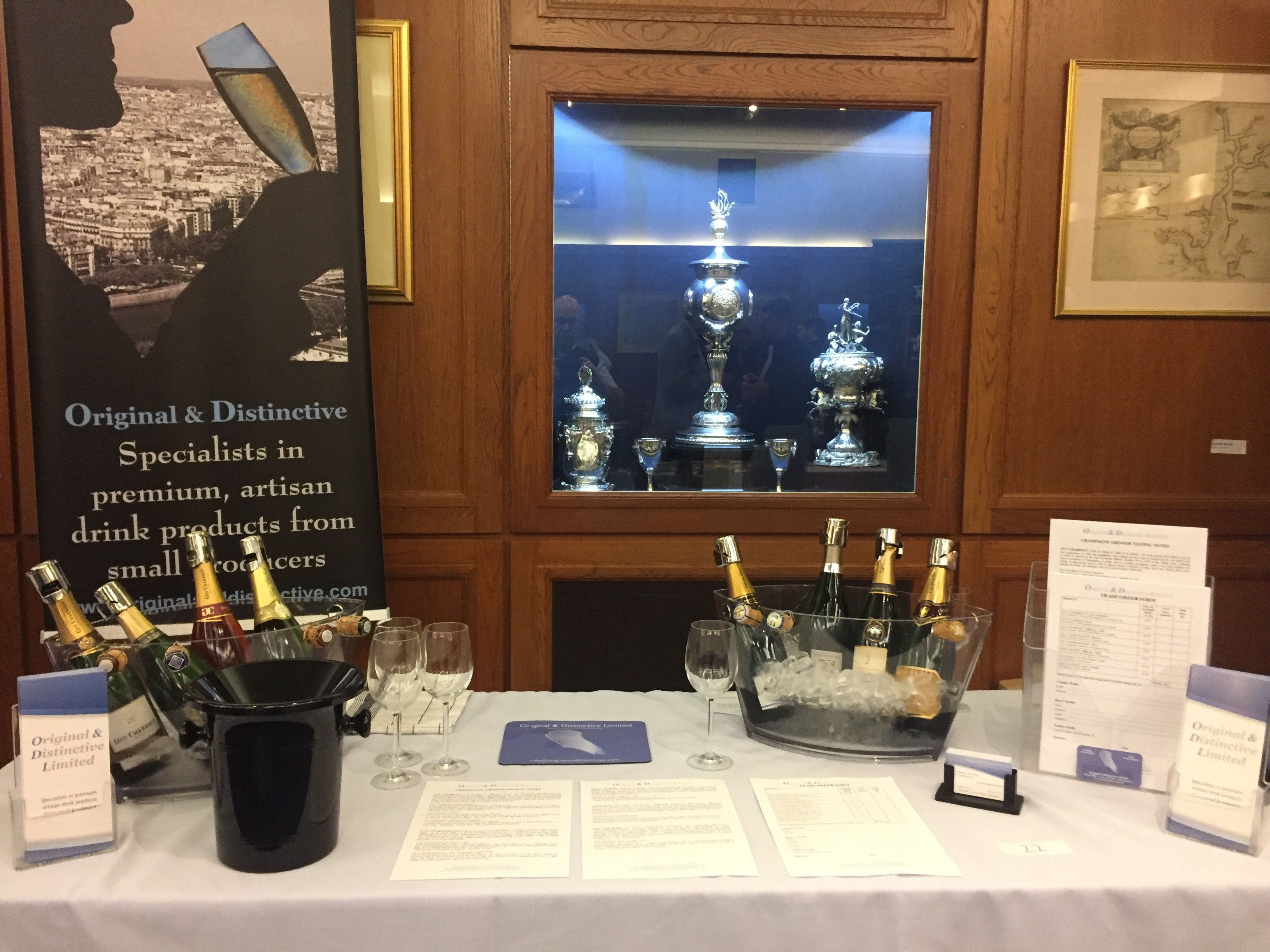 Glass of Bubbly Tasting Event - Autumn 2016