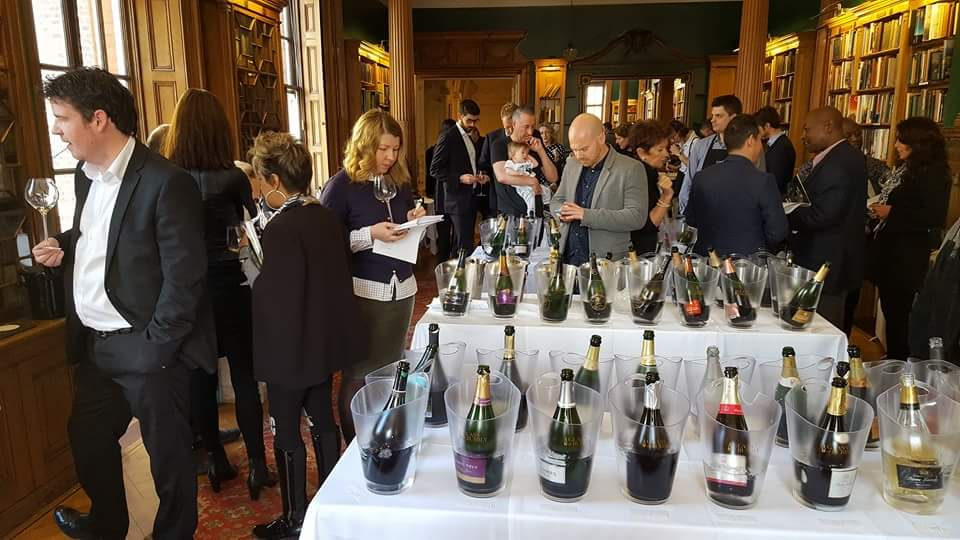 Glass of Bubbly Tasting Event - Spring 2016