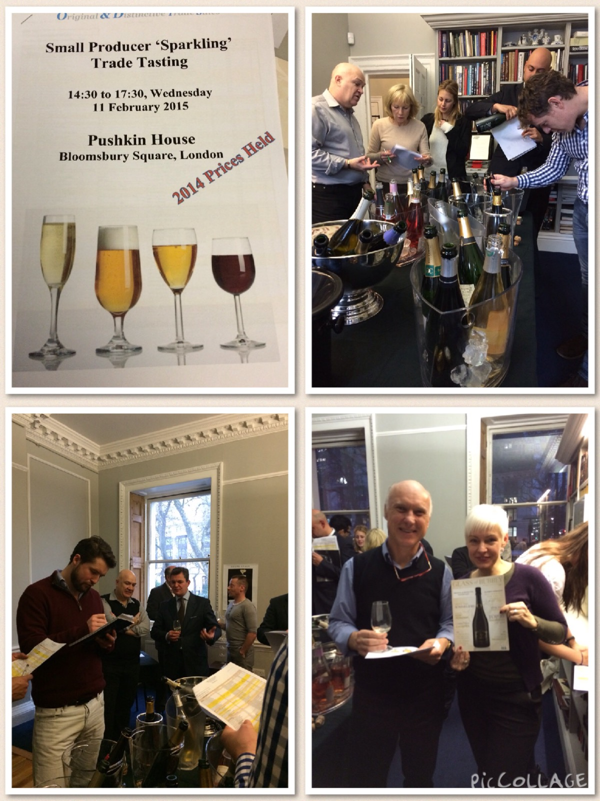 Small Producer Customer Tasting - Spring 2015