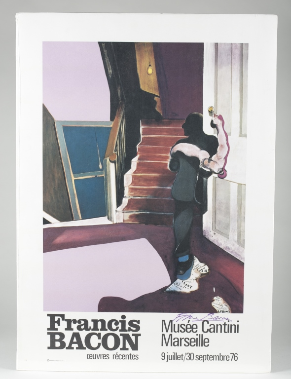 Francis Bacon - Musee Cantini Marseille Poster