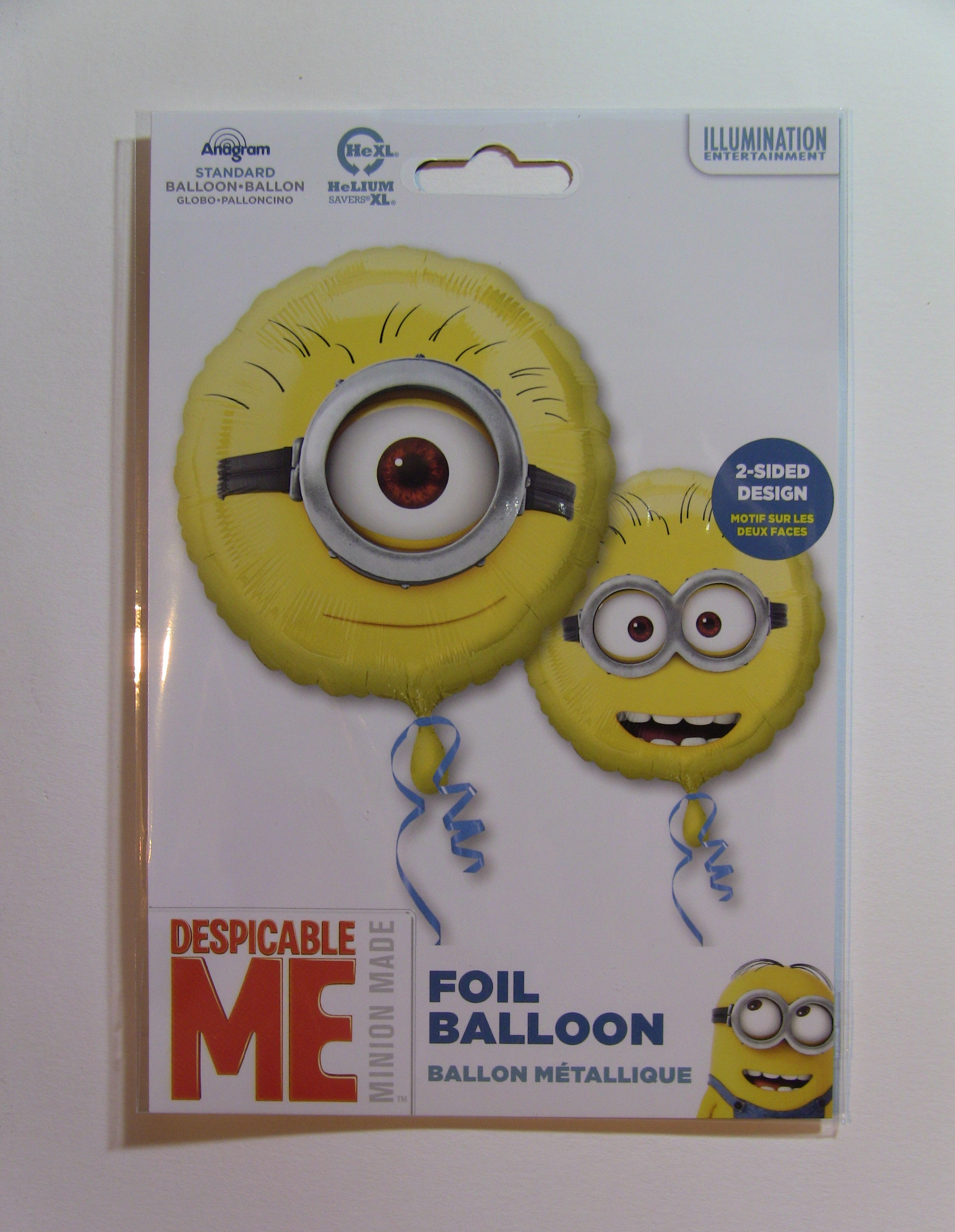 Folie ballon Minion