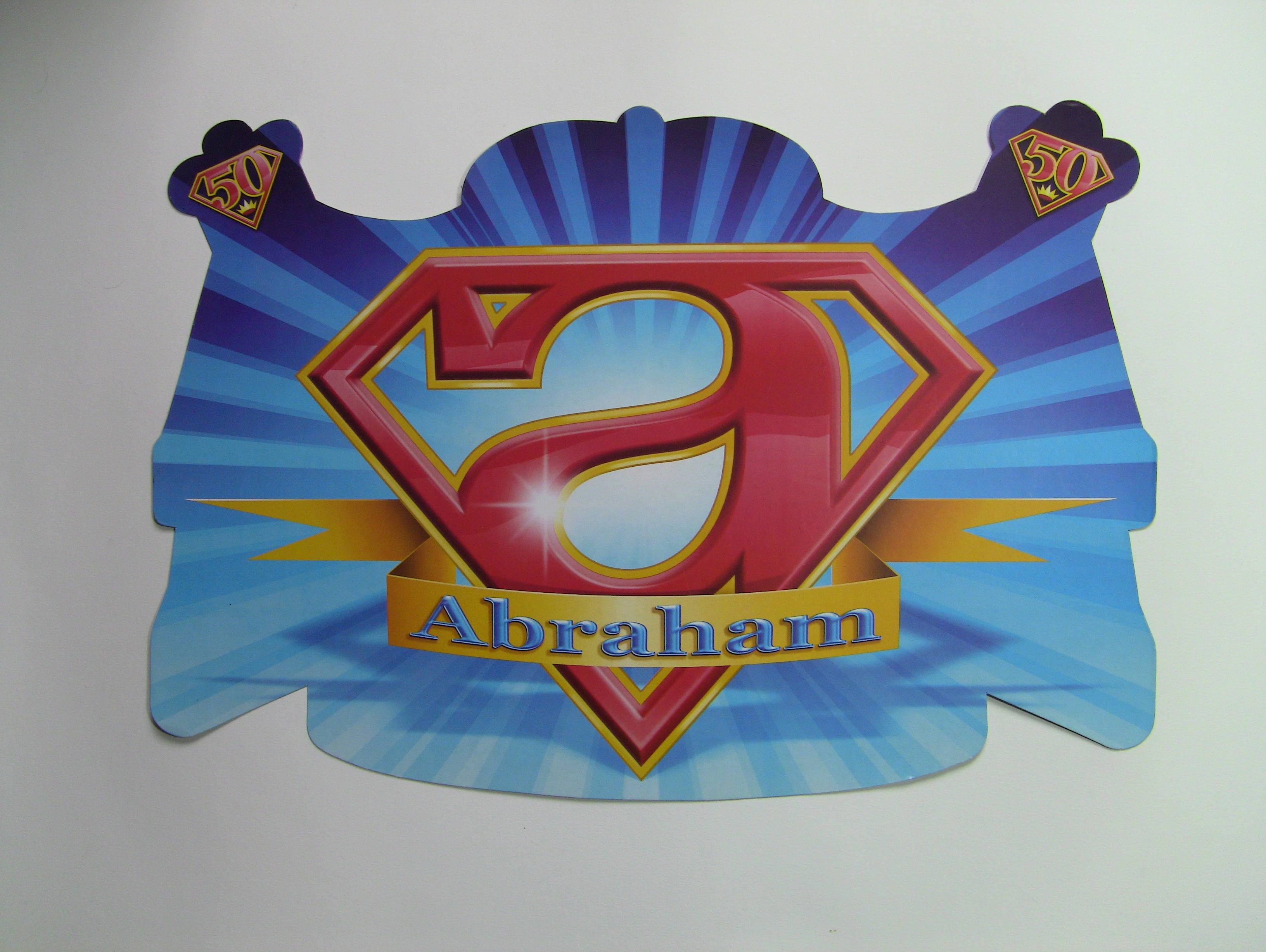 Huldeschild super Abraham
