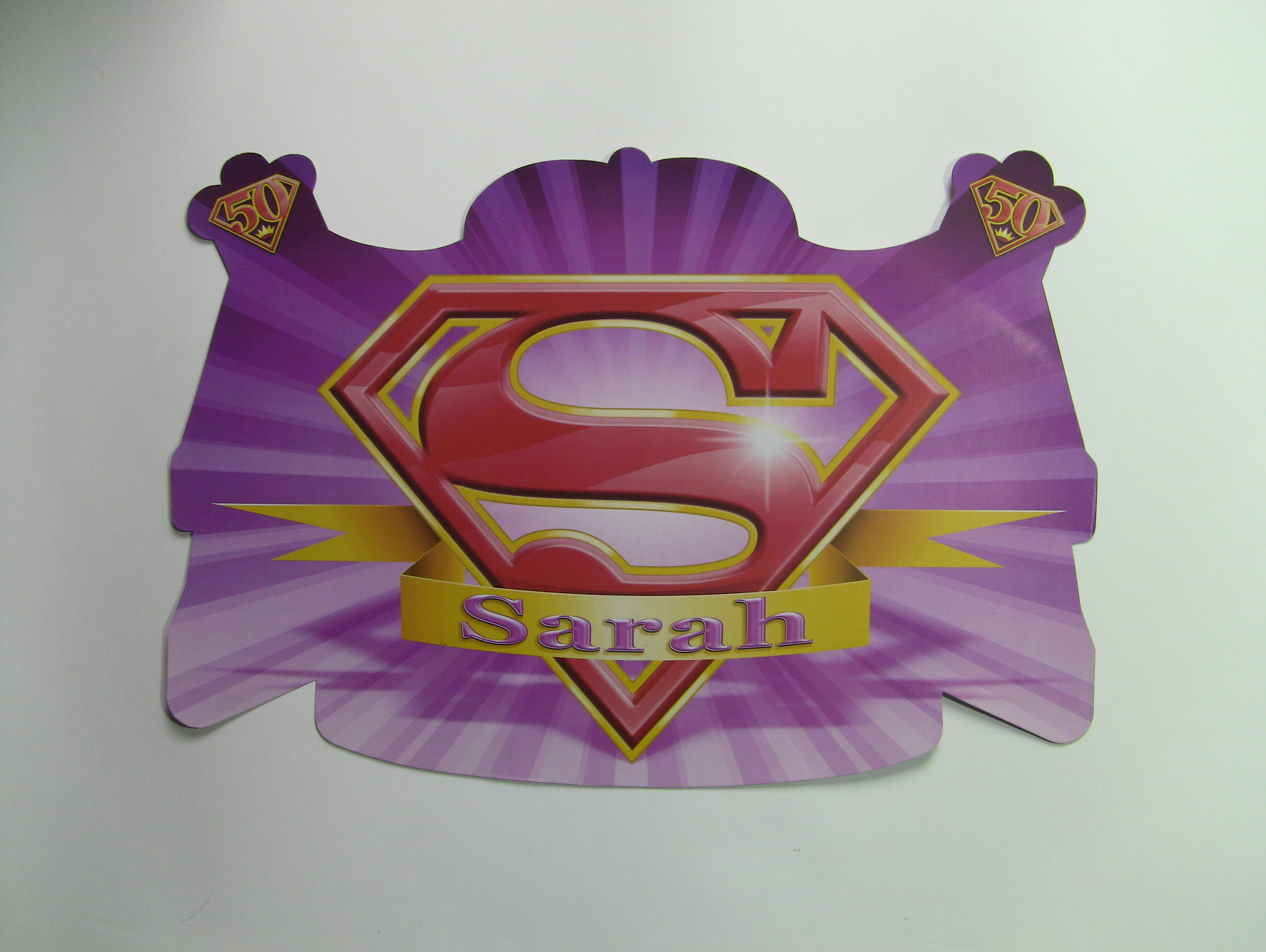Huldeschild super Sarah