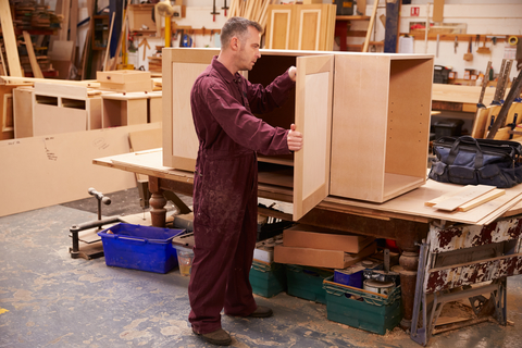 Shop Fitting/Bench- NVQ Diploma Level 2 Shopfitting - Bench Work QUC901