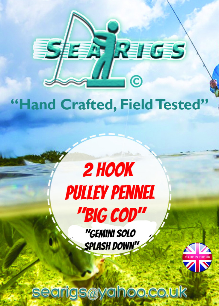 Big Cod - Pulley Pennel Rig (Gemini Splash Down Solo) x1