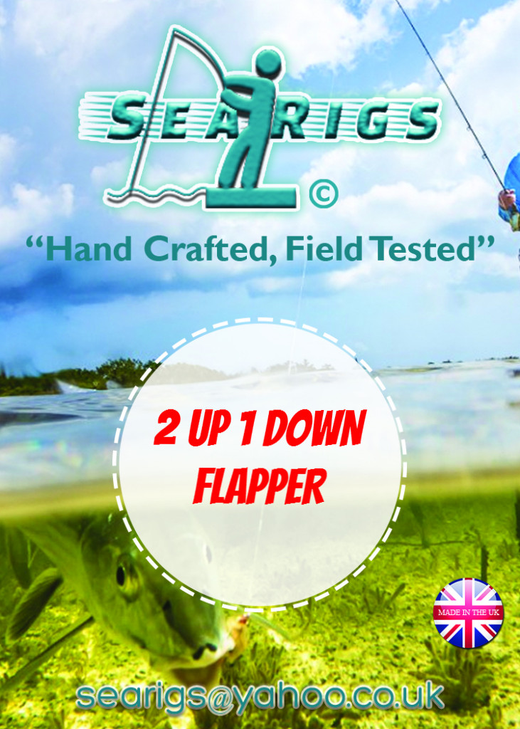 2 Up 1 Down Whiting Flapper Rig