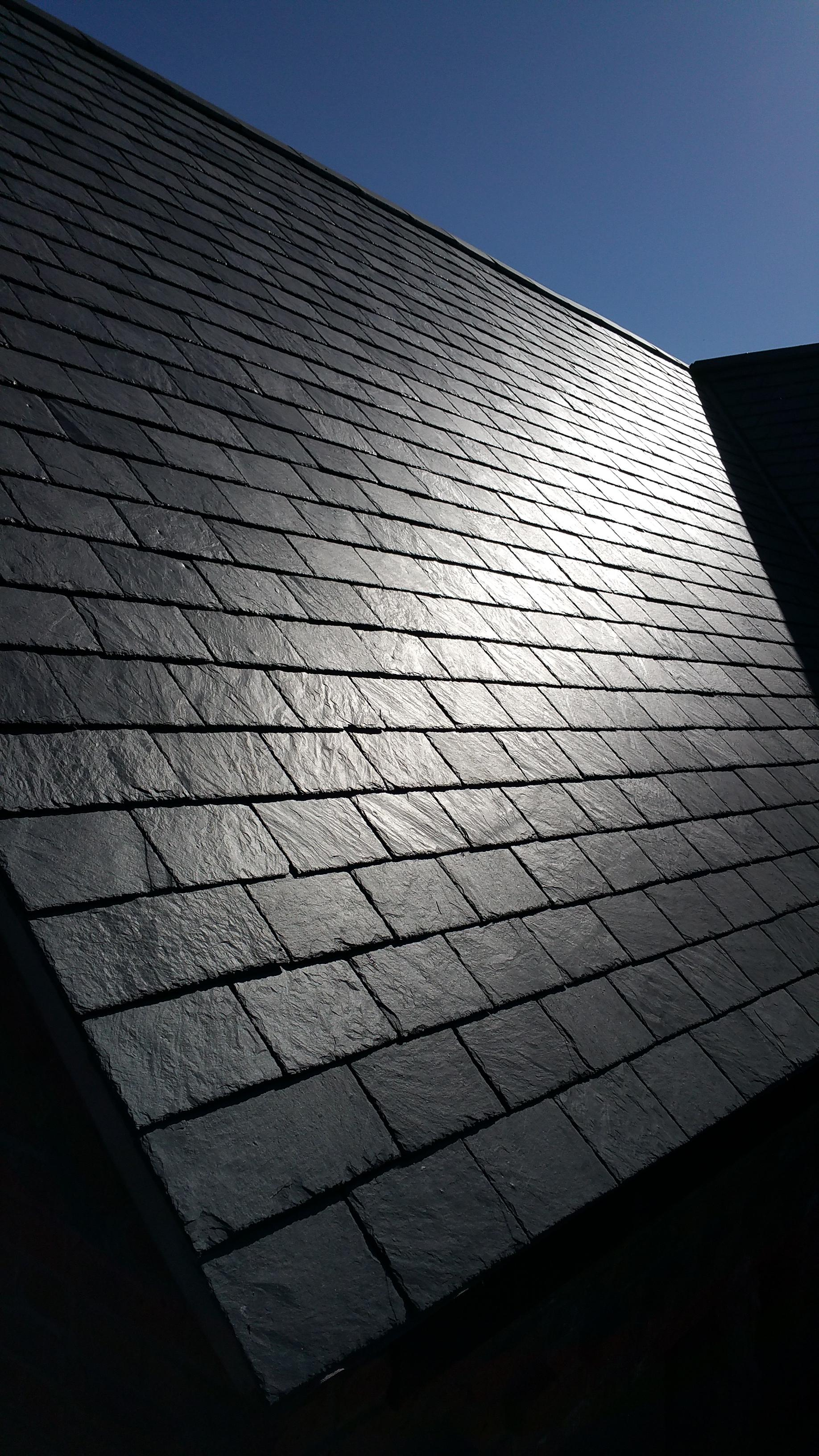 Galex, Iconic Slate Ltd Heritage, Grey slate 40cm x 25cm  7-9mm thick, fitted in Cheshire