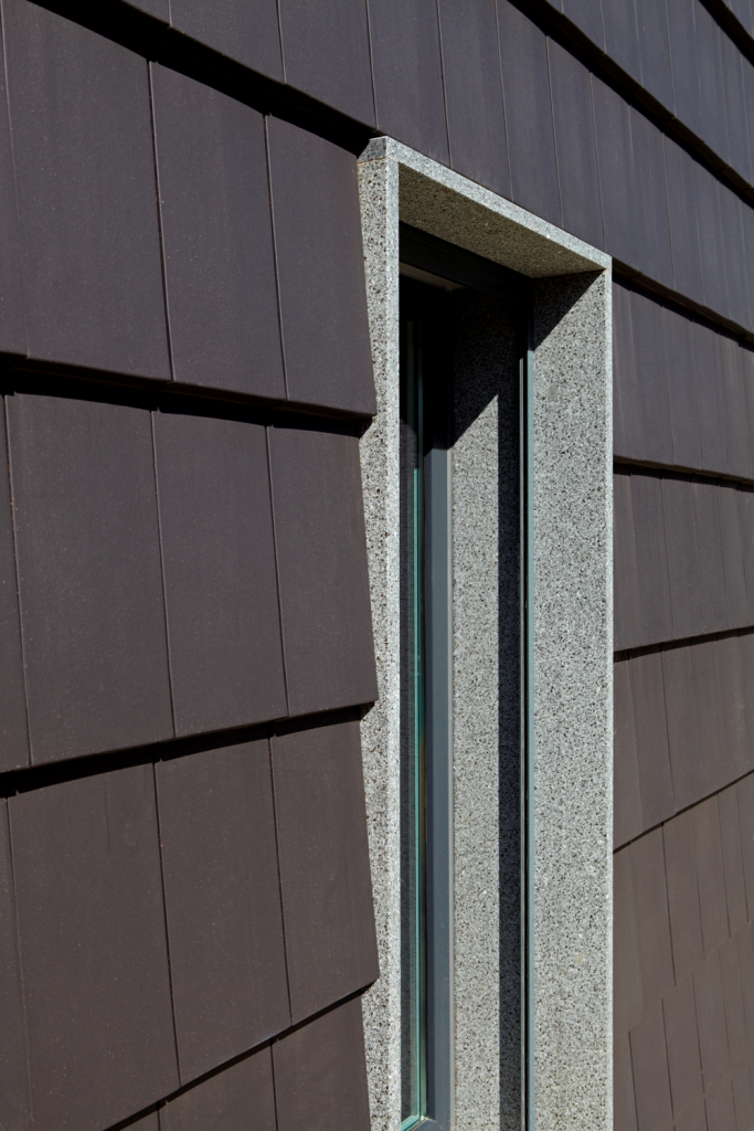 CS Plasma slate colour rainscreen cladding