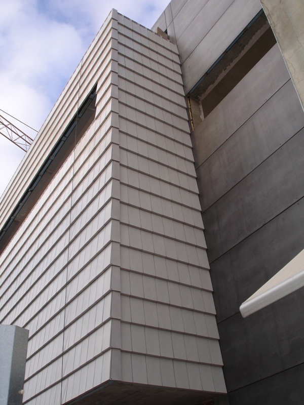 CS Plasma clay facade cladding tile, non flammable