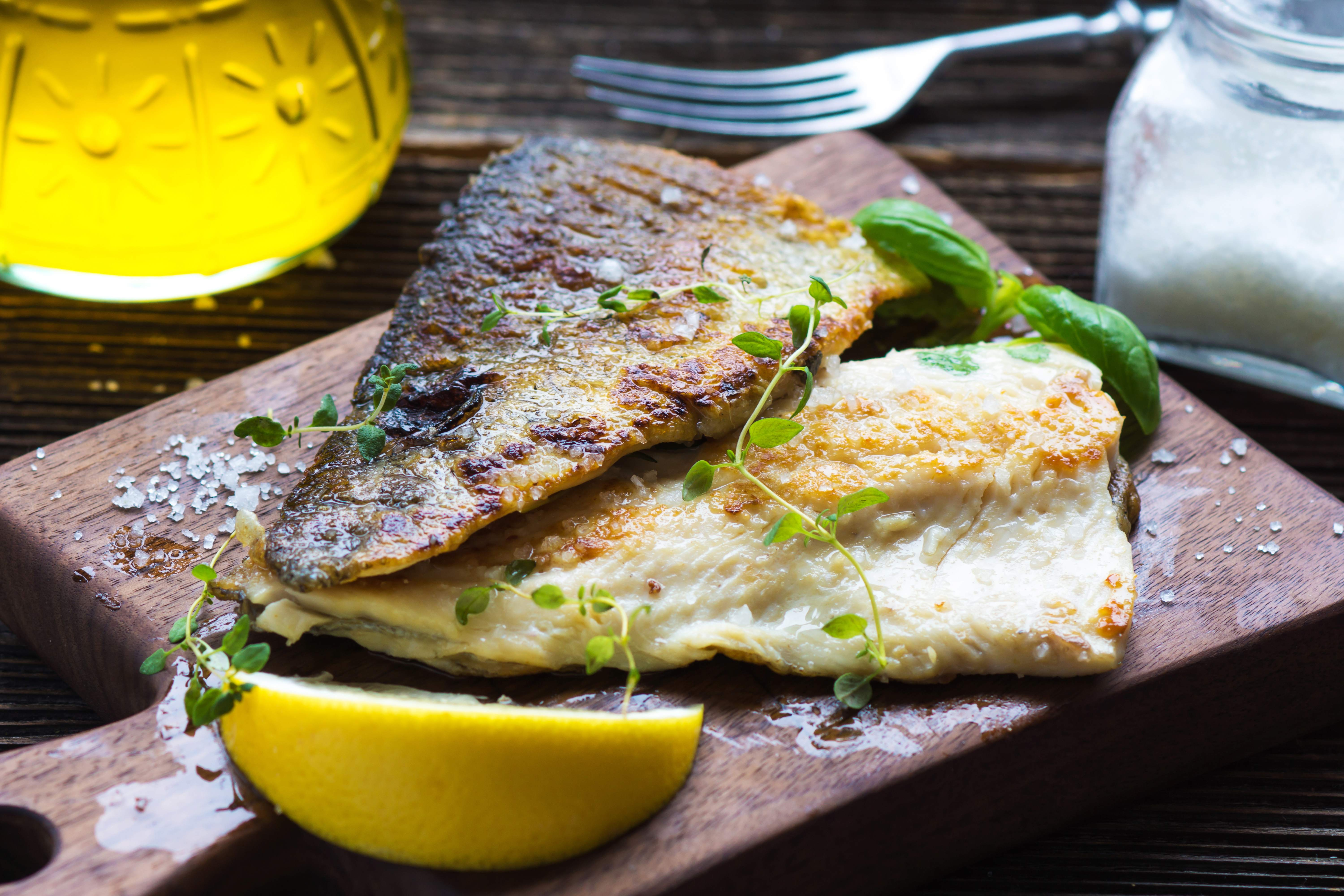 Baked Lemon Sole