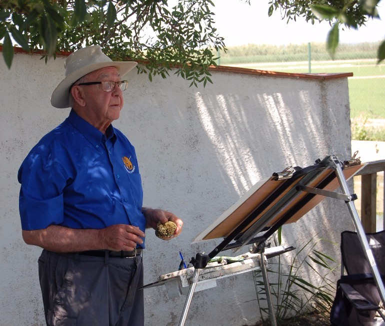 Arnold Lowrey art tutor for Dalvaro Art Spaun www.paintonholiday.com