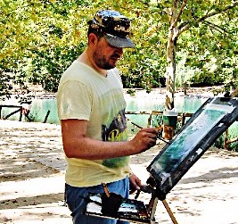 Pablo Ruben plein air watercolors www.paintonholiday.com
