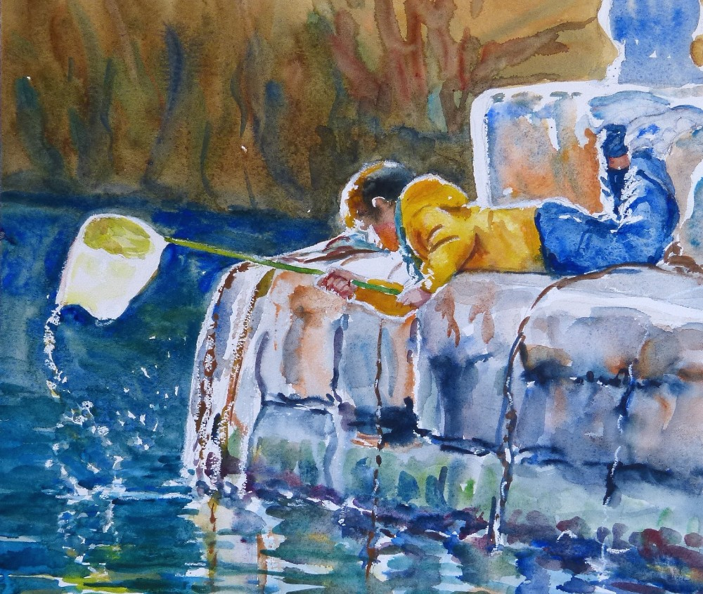 watercolour painting by Doranne Alden, www.paintonholiday.com