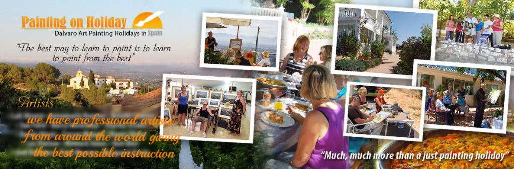 A variety of painting courses, workshops, classes, vacations and holidays at Dalvaro Art