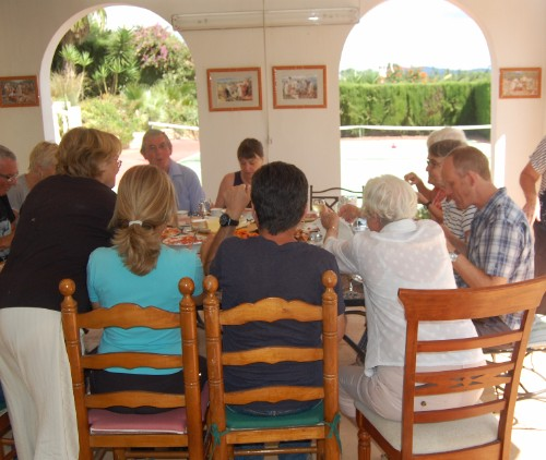 Dalvaro Art painting holidays and art courses include all meals