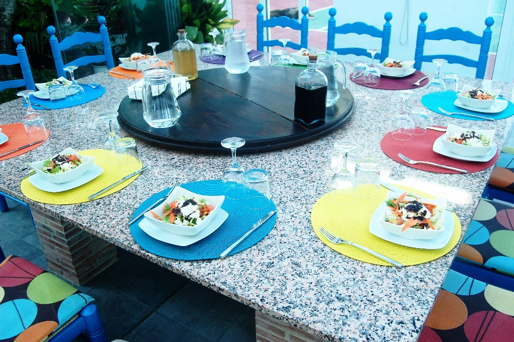 All lunches included on a Dalvaro Art www.paintonholiday.com painting holiday