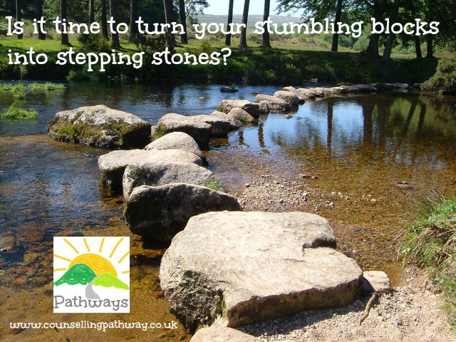Is it time to turn your stumbling blocks into stepping stones?
