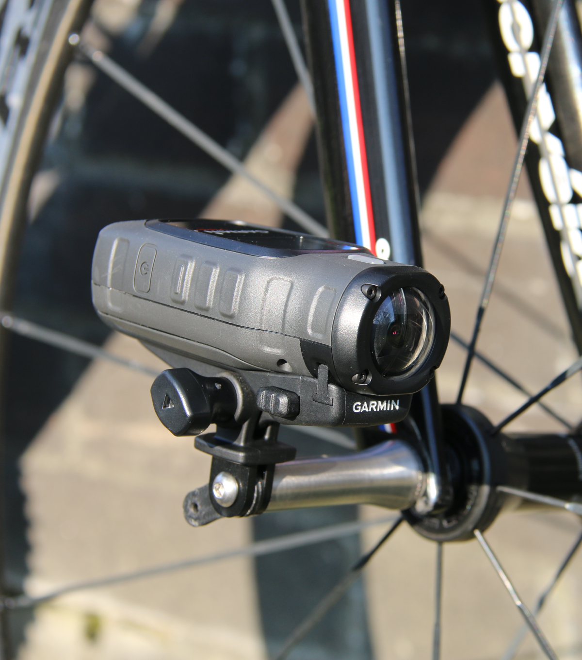 Bicycle Axle Camera Mount